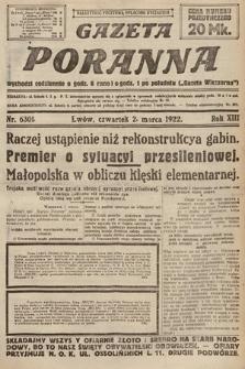 Gazeta Poranna. 1922, nr6301