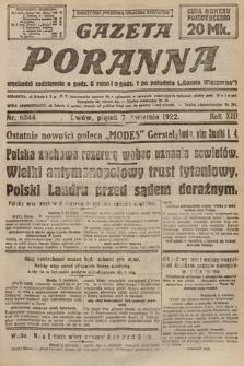 Gazeta Poranna. 1922, nr6344