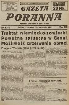 Gazeta Poranna. 1922, nr6362