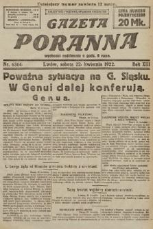 Gazeta Poranna. 1922, nr6364