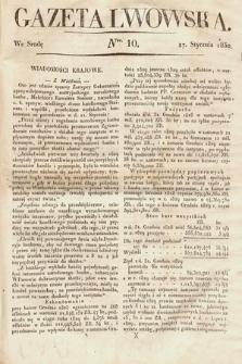 Gazeta Lwowska. 1830, nr10