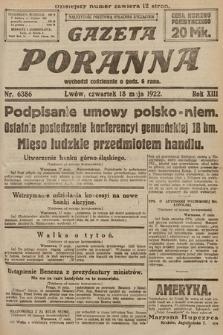 Gazeta Poranna. 1922, nr6386