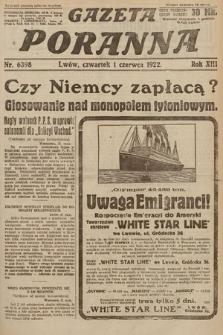 Gazeta Poranna. 1922, nr6398