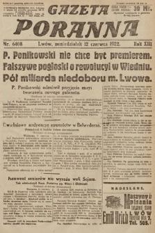 Gazeta Poranna. 1922, nr6408