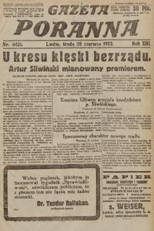 Gazeta Poranna. 1922, nr6421
