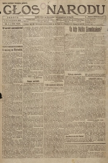 Głos Narodu. 1921, nr1