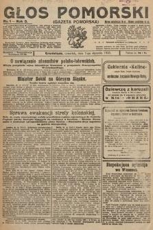 Głos Pomorski. 1925, nr1