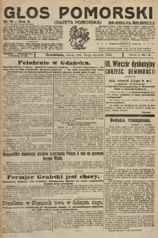 Głos Pomorski. 1925, nr10