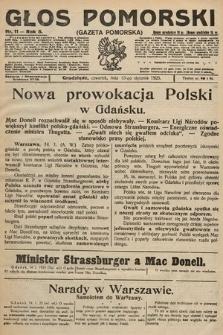 Głos Pomorski. 1925, nr11