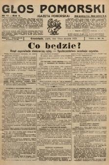 Głos Pomorski. 1925, nr12