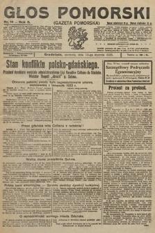 Głos Pomorski. 1925, nr14