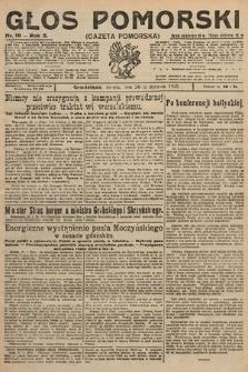 Głos Pomorski. 1925, nr19