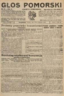 Głos Pomorski. 1925, nr21