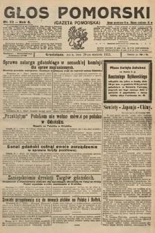 Głos Pomorski. 1925, nr22