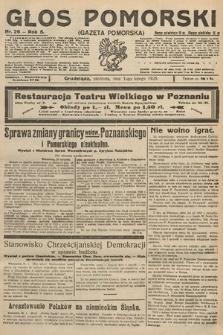 Głos Pomorski. 1925, nr26