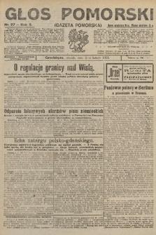 Głos Pomorski. 1925, nr27
