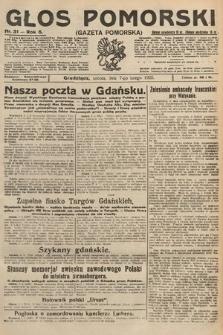 Głos Pomorski. 1925, nr31