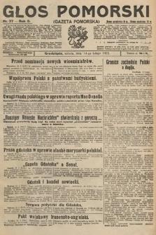 Głos Pomorski. 1925, nr37