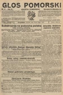 Głos Pomorski. 1925, nr41