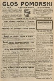 Głos Pomorski. 1925, nr42