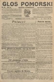 Głos Pomorski. 1925, nr45