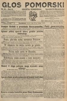 Głos Pomorski. 1925, nr46