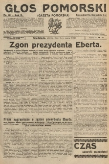 Głos Pomorski. 1925, nr51