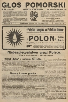 Głos Pomorski. 1925, nr56
