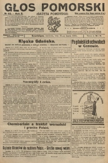 Głos Pomorski. 1925, nr62