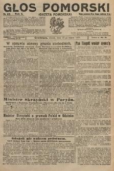 Głos Pomorski. 1925, nr63