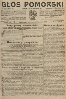 Głos Pomorski. 1925, nr65