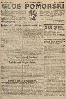 Głos Pomorski. 1925, nr75