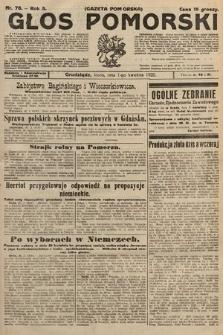 Głos Pomorski. 1925, nr76