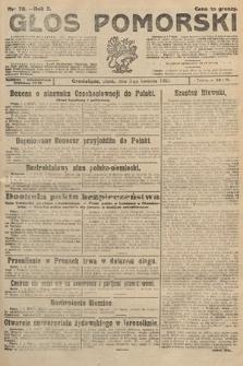 Głos Pomorski. 1925, nr78