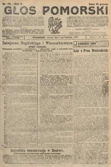 Głos Pomorski. 1925, nr79