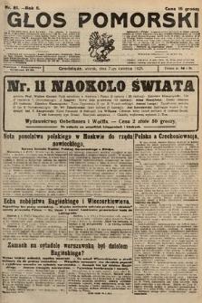 Głos Pomorski. 1925, nr81