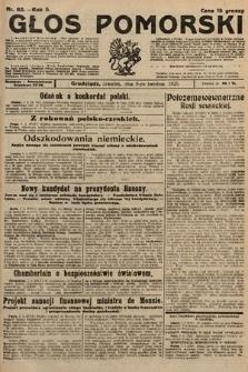 Głos Pomorski. 1925, nr83