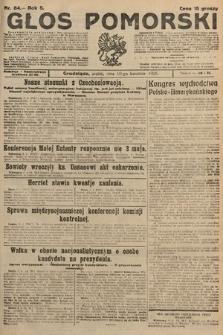 Głos Pomorski. 1925, nr84
