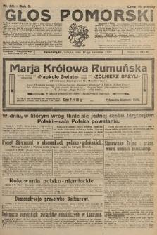 Głos Pomorski. 1925, nr85