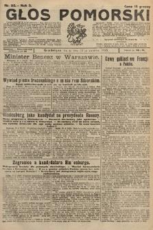Głos Pomorski. 1925, nr93