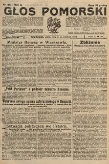 Głos Pomorski. 1925, nr95