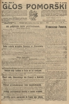Głos Pomorski. 1925, nr96