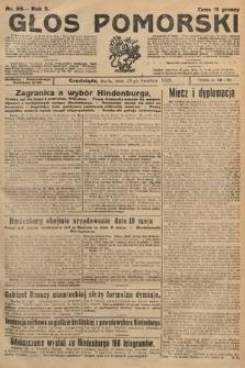 Głos Pomorski. 1925, nr99