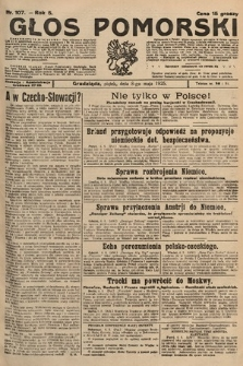 Głos Pomorski. 1925, nr107