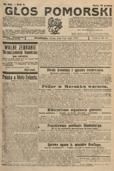 Głos Pomorski. 1925, nr108