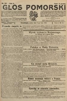 Głos Pomorski. 1925, nr113