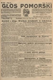 Głos Pomorski. 1925, nr114