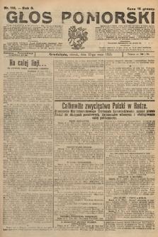 Głos Pomorski. 1925, nr116