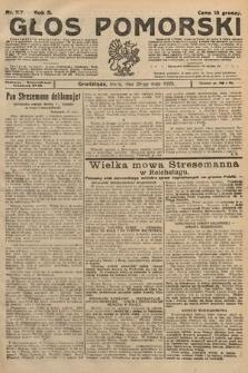 Głos Pomorski. 1925, nr117