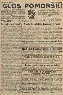 Głos Pomorski. 1925, nr118